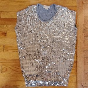 Michael Michael Kors sequined lose fitting T-shirt